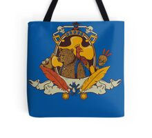 Bear & Bird Crest Tote Bag