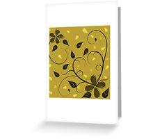 Swirls of peace Greeting Card