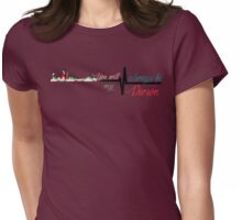 Grey's Anatomy- Skyline Womens Fitted T-Shirt