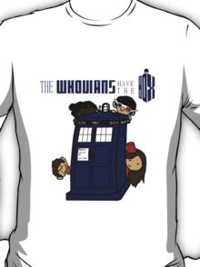The Whovians Have the Box! T-Shirt