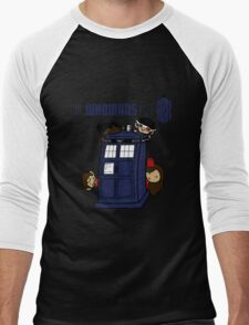 The Whovians Have the Box! Men's Baseball ¾ T-Shirt