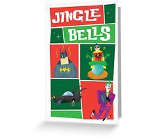 Christmas Card - Batman Smells Greeting Card