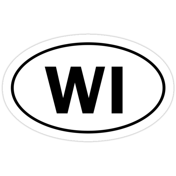 WI - Oval Identity Sign by Ovals