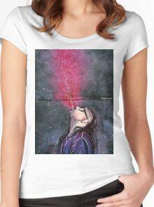 Skrillex Women's Fitted Scoop T-Shirt