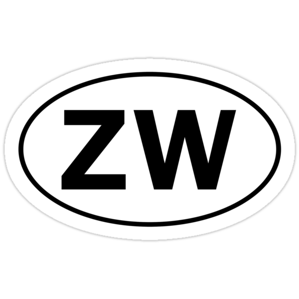 ZW - Oval Identity Sign by Ovals