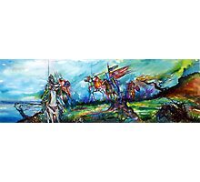 RIDERS IN THE STORM KNIGHTS TEMPLAR Photographic Print