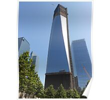 Freedom Tower (mid construction) Poster