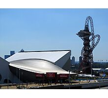 London Olympic buildings, Stratford July 2012 Photographic Print