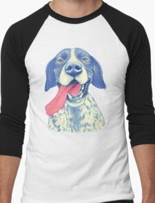 Jola #01 - German Short-Haired Pointer Men's Baseball ¾ T-Shirt