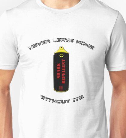 Shark Repellent (Black Writing) - 60's Batman  Unisex T-Shirt