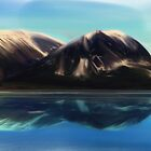 A mountain of Alaska by minored