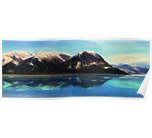 A mountain of Alaska Poster
