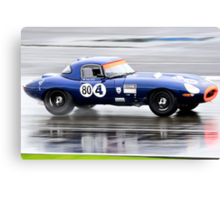 E Type Challenge No 80 Canvas Print