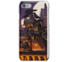an evening visit iPhone Case/Skin