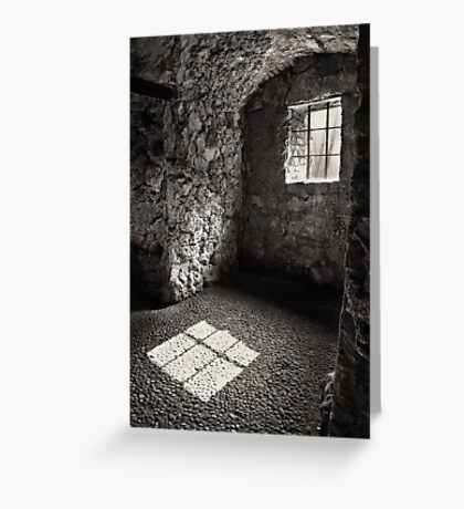 Shadow of a Window Greeting Card