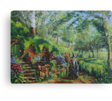 Gandalf's Return Canvas Print