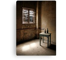 Cobwebs at the Window Canvas Print