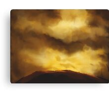 Night Clouds Canvas Print