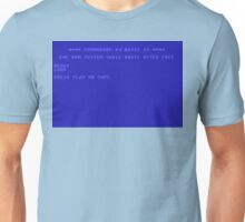 Commodore 64 Screen Unisex T-Shirt
