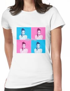 KP - KATYCATS Womens Fitted T-Shirt