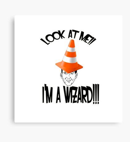 I'm a Wizard!! Canvas Print