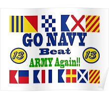 Go Navy, Beat Army - Again Poster