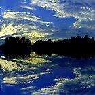 Cloud Splatter a la Jackson Pollock by Tim Scullion