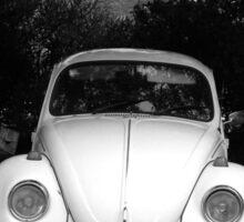 Abandoned VW Bug in Croatia Sticker