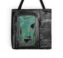 Curtain at the Window Tote Bag