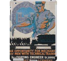 The US Engineers need you 002 iPad Case/Skin