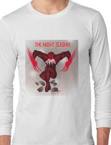 The Night Slasher T-shirt Long Sleeve T-Shirt