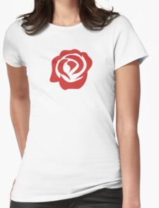 A Rose by Any Other Name Womens Fitted T-Shirt