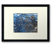 """One Breath""  by Carter L. Shepard Framed Print"