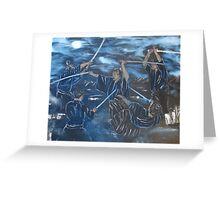 """One Breath""  by Carter L. Shepard Greeting Card"