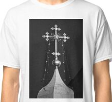 Orthodox church dome view, Russia, Moscow center Classic T-Shirt