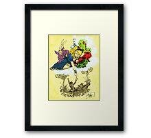 Dreaming Alice in Color Framed Print