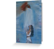 """""""Outpouring""""  by Carter L. Shepard Greeting Card"""
