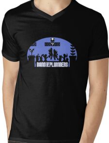 Band of Plumbers Mens V-Neck T-Shirt