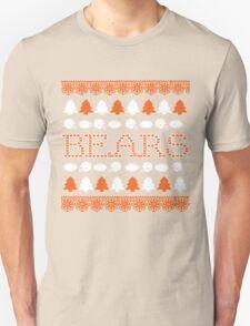 Chicago Bears Ugly Christmas Costume. Unisex T-Shirt