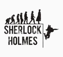 Sherlock Holmes the evolution of man T-Shirt