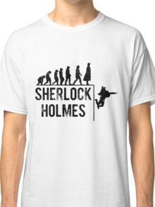 Sherlock Holmes the evolution of man Classic T-Shirt