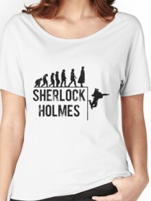 Sherlock Holmes the evolution of man Women's Relaxed Fit T-Shirt