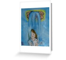 """""""Recieving""""  by Carter L. Shepard Greeting Card"""
