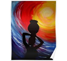 Woman with Pitcher Poster
