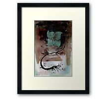 mourning glory Framed Print
