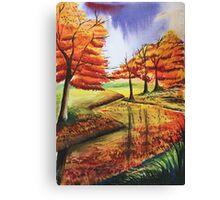 Beloved Autumn Canvas Print