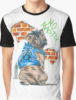 No Master Graphic T-Shirt