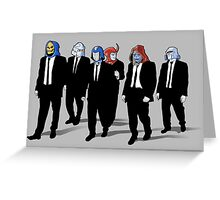 RESERVOIR FOES Greeting Card