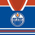 Oilers Jersey - Front by jdsmdlo