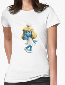Smurfette Womens Fitted T-Shirt